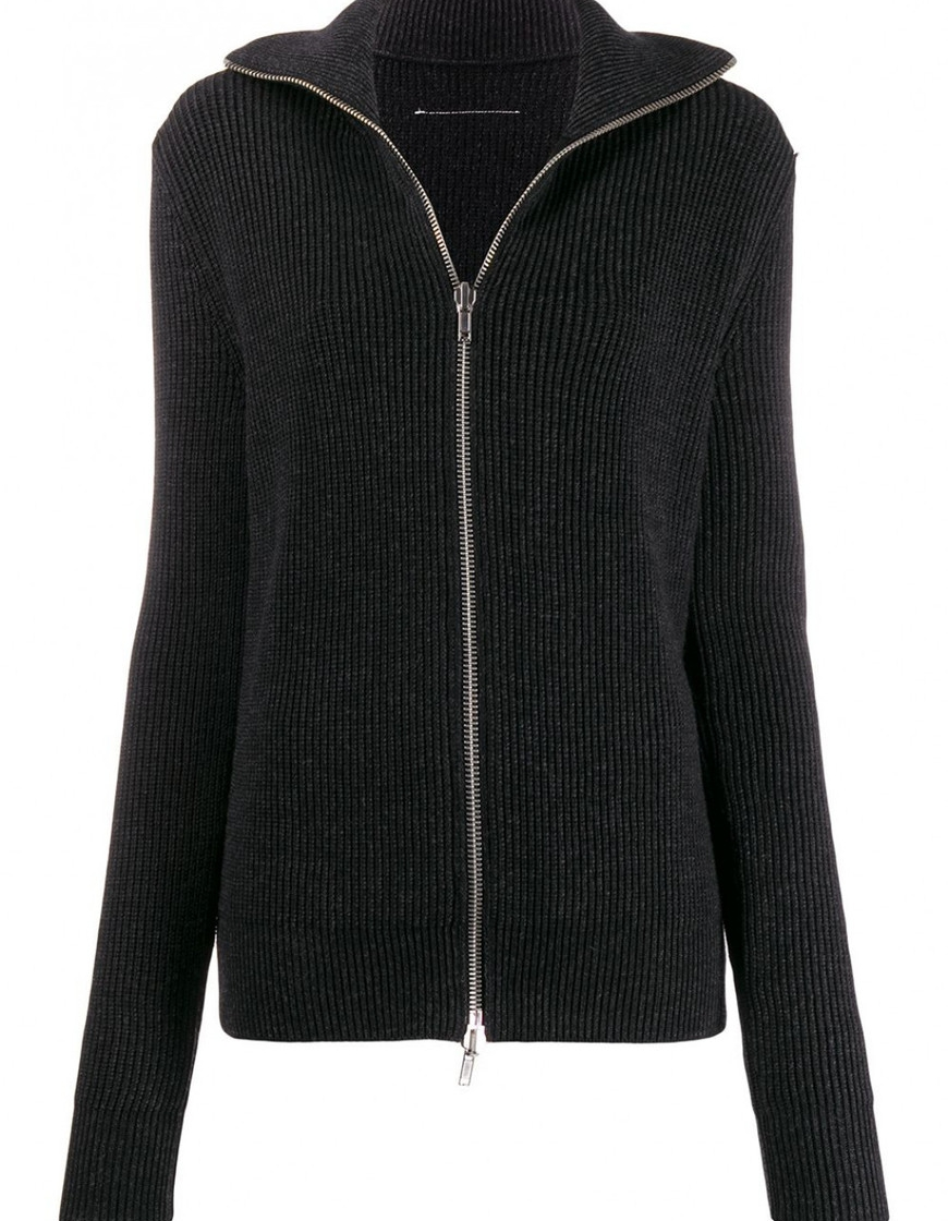 19 FW 메종마르지엘라 MM6 집업 스웨터 S32GP0179