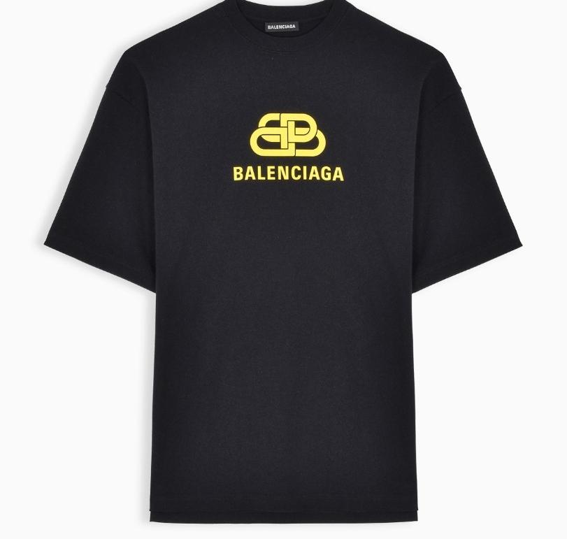 발렌시아가 메인컬렉션 BB로고 반팔 티셔츠
