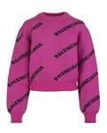 20SS 발렌시아가 510243 로고 스웨터