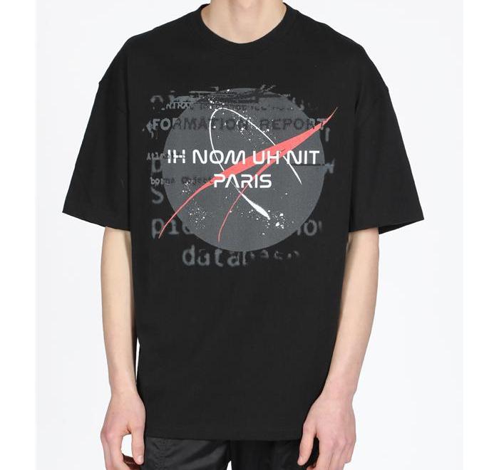 19SS  이놈어닛 프린팅 오버핏 반팔티셔츠