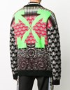 20 FW 오프화이트 스웨터 OMHE059F20KNI0010955