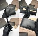 보테가베네타 남성 반지갑 블랙 양가죽 한정  판매